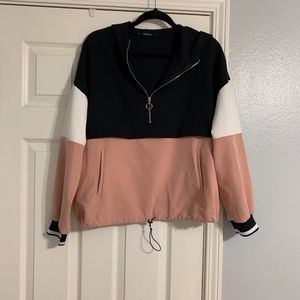 Zara Zip Up Pull Over